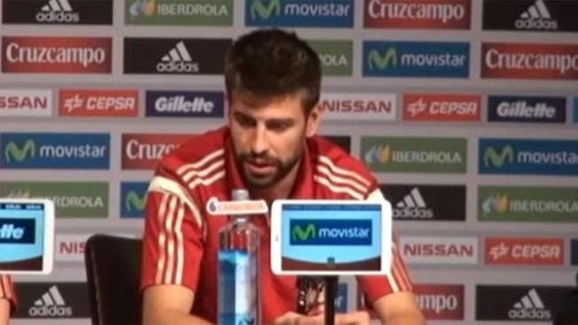 Piqué: España no es favorita del Mundial