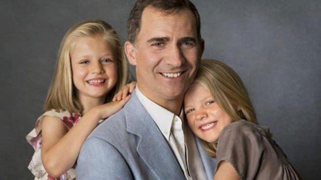 Inéditas fotos del Príncipe y sus hijas