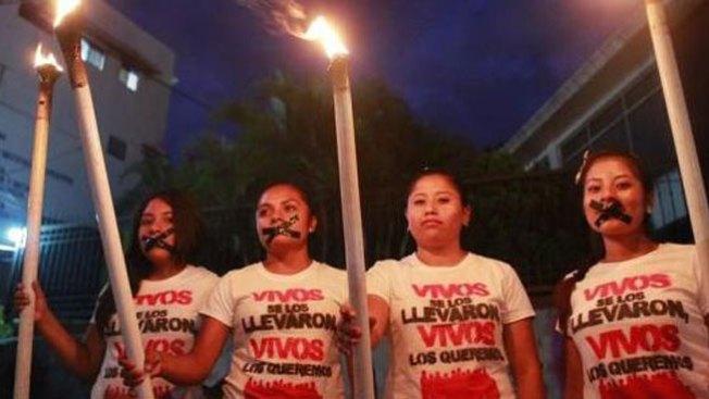 Iguala: Estudiantes vuelven a protestar