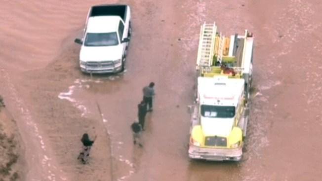 Arizona: rescates en el agua