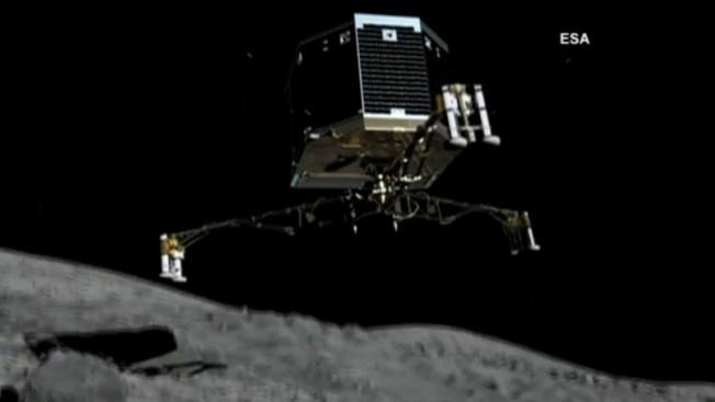 Robot inicia descenso en cometa 67P