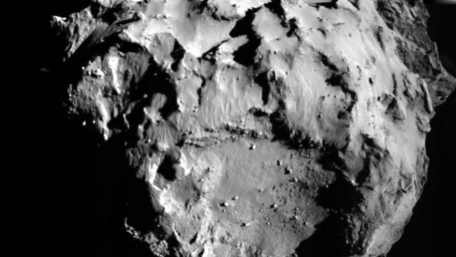 Robot Philae manda 1a foto del cometa