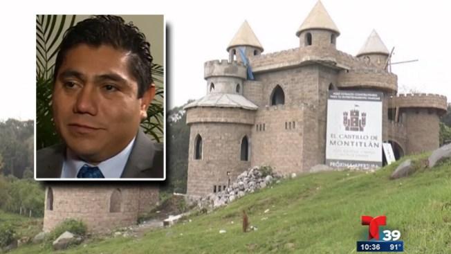 Castillo de senador causa polémica
