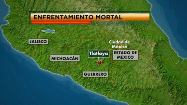22 muertos por balacera en México