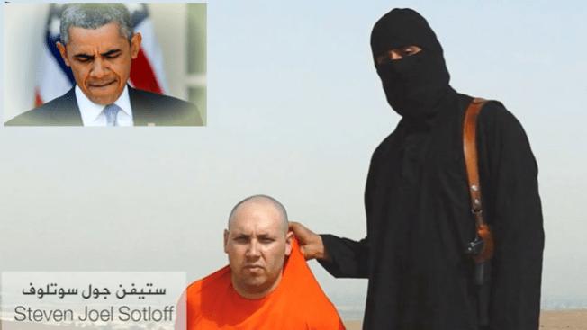 ISIS: su vida depende de Obama