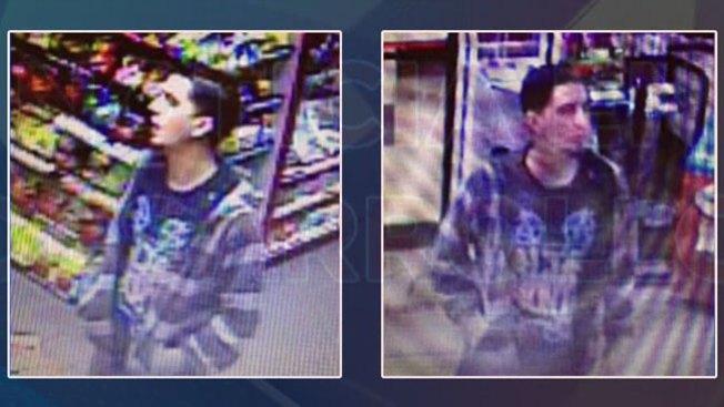 Fugitivo roba tienda a punta de pistola