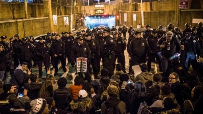 """Protestan bajo lema: """"No puedo respirar"""""""