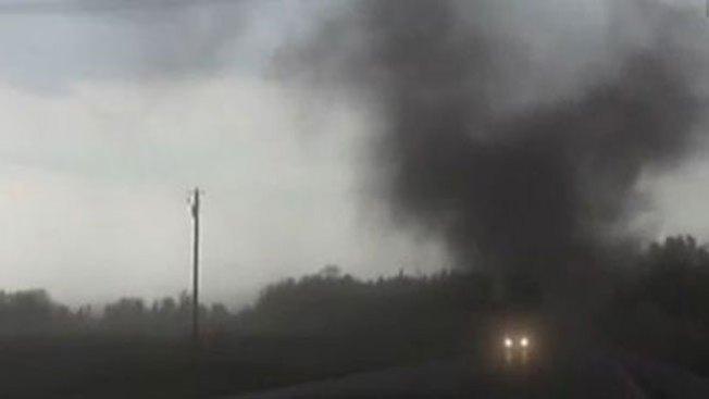 Captan potente tornado en Nebraska