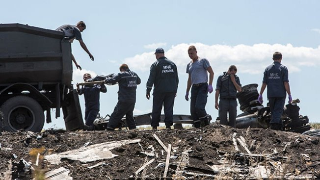 MH17: Inicia transporte de cadáveres
