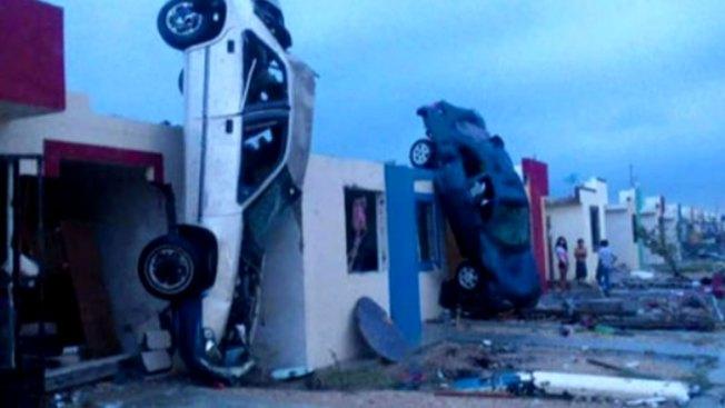 Tornado en México mata a 13 y destruye casas