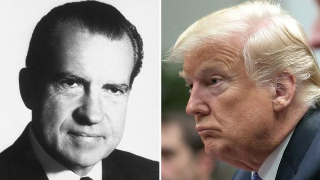 La sombra de Watergate, Trump y la Casa Blanca