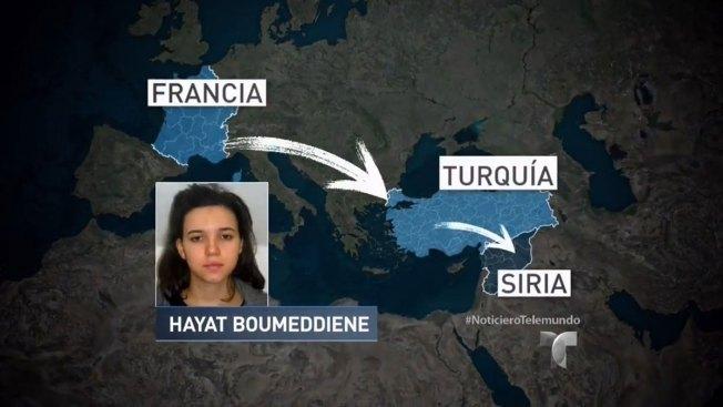 Presunta terrorista estaría en Siria