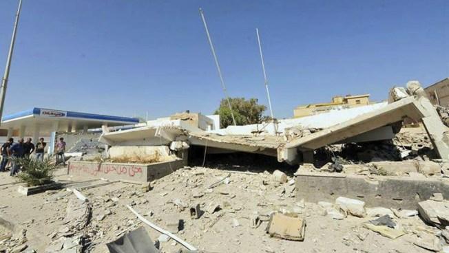 EEUU evacua su embajada en Libia