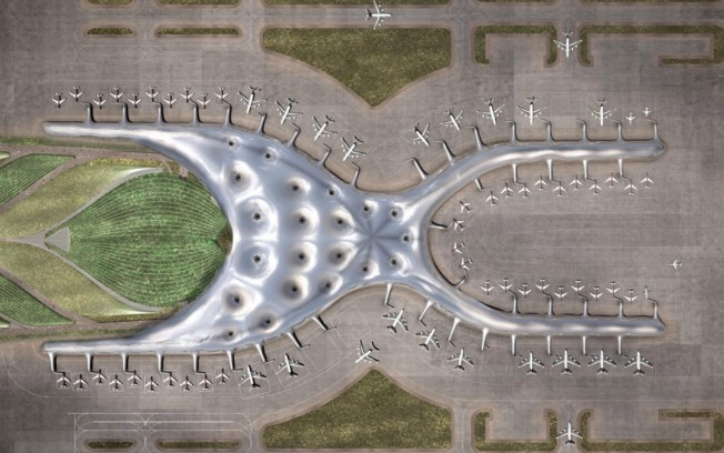 Imagen viral abona a polémica por aeropuerto