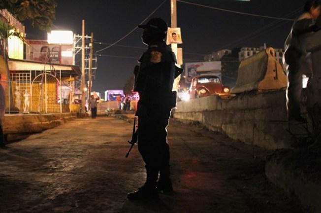 Manifestación por violencia en Guerrero