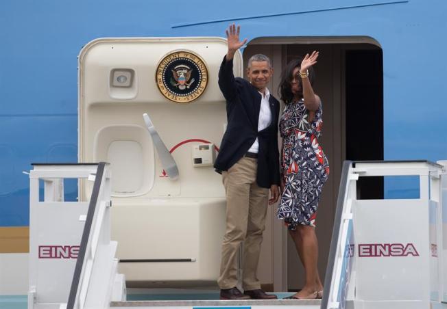 Obama se despide de Cuba