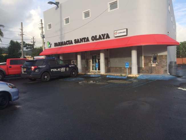 Investigan posible robo a ATM en farmacia de Bayamón