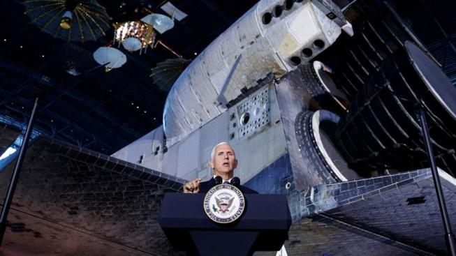 Vicepresidente Pence: activaremos el Ejército Espacial el 29 de agosto