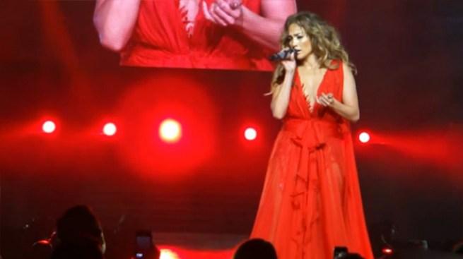 J.Lo rinde homenaje a Selena