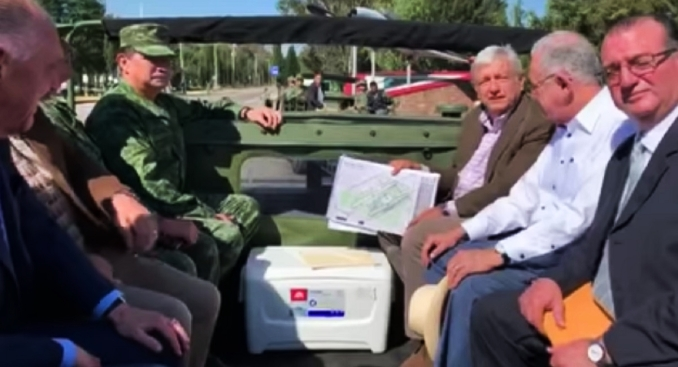 AMLO: ejército construirá aeropuerto en base militar